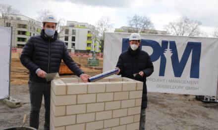 Grundsteinlegung an der Grundschule Heerstraße