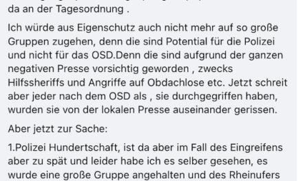 OSD — der Blickhin