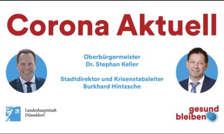 Corona-Notbremse des Landes ab 19. April in der Landeshauptstadt Düsseldorf