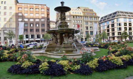 Städtische Brunnenanlagen sprudeln wieder