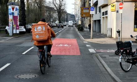 Ausbau des Radhauptnetzes auf der Rethelstraße und der Prinz-Georg-Straße