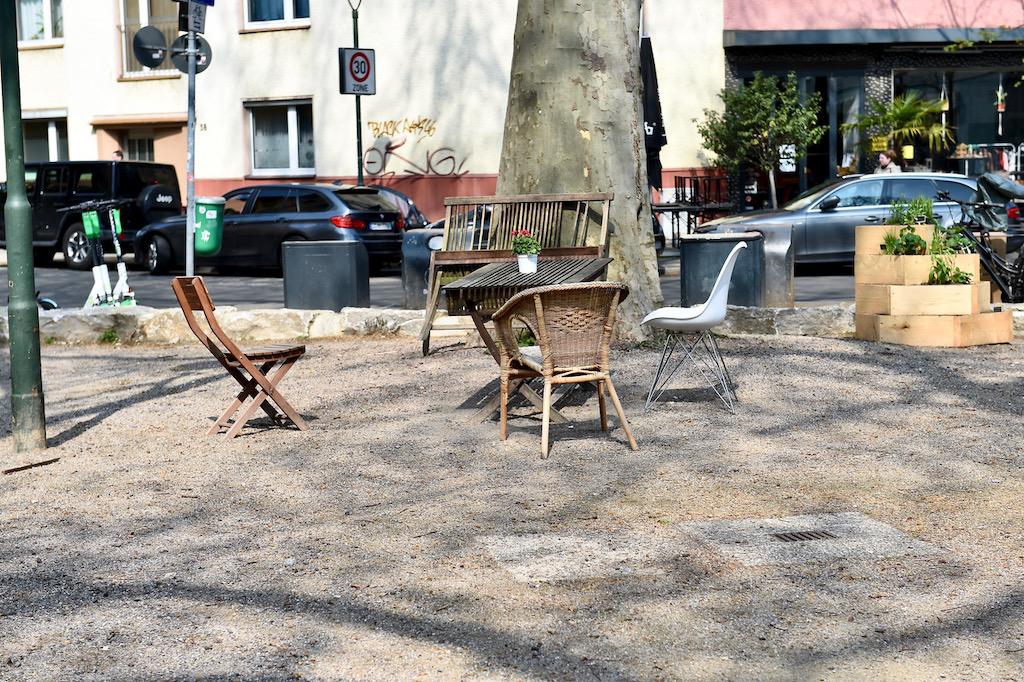 Platz an der Parkstraße Ecke Marschallstraße Foto: LOKALBÜRO