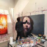 Gottfried Helnwein präsentiert neue Werke bei Geuer in Düsseldorf