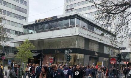 Einsatzintensives Demonstrationsgeschehen in der Landeshauptstadt