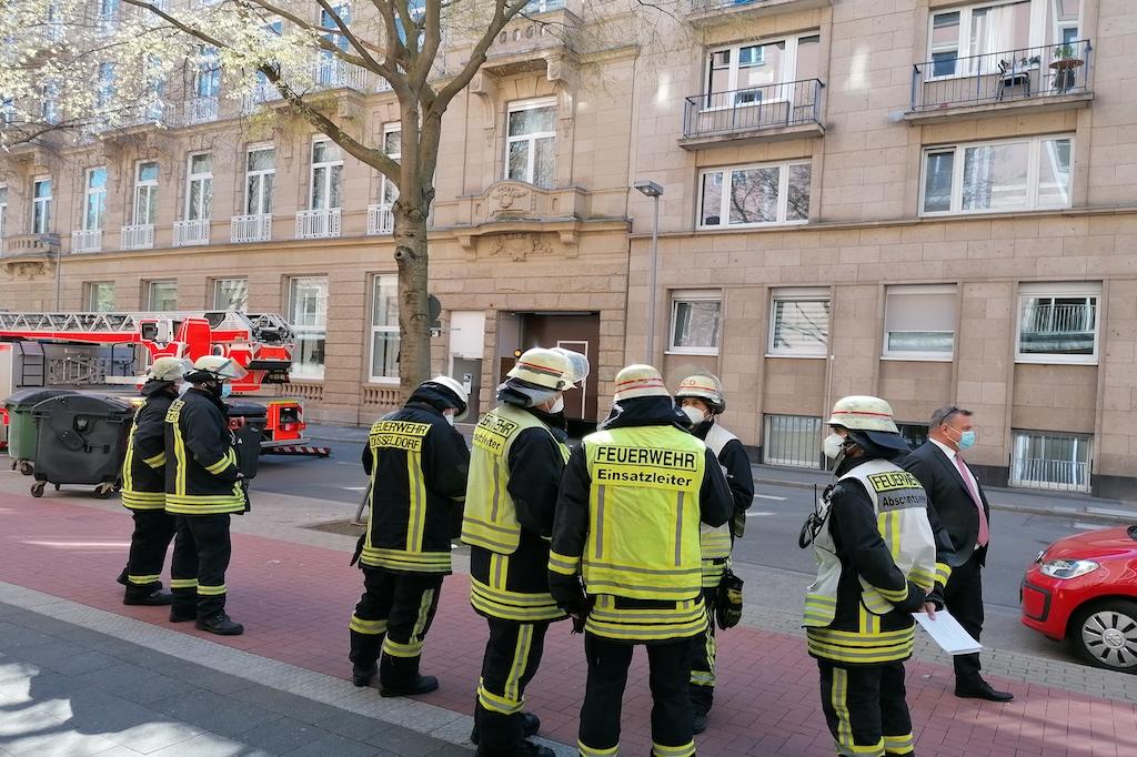 Risse im Gebäude des Steigenberger Parkhotel Foto: LOKALBÜRO