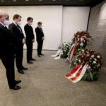 Stilles Gedenken zum 25. Jahrestag des 11. April 1996 im Beisein von NRW-Verkehrsminister Hendrik Wüst