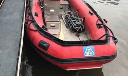 Rettungsboot der Feuerwehr entwendet