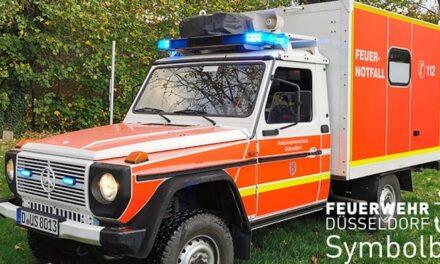 Zwei Rettungseinsätze mit geländegängigem Krankenwagen