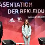 Messe Düsseldorf schafft den Rahmen für die Präsentation Olympische und paralympische Athlet*innen Outfits
