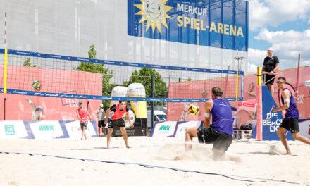 Beachvolleyball-Hauptstadt Düsseldorf