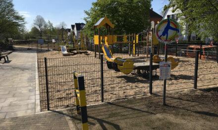 Umgebauter Kinderspielplatz an der Gutenbergstraße öffnet am Freitag