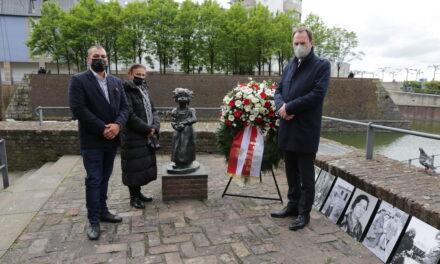 Gedenken an die während der NS-Zeit ermordeten Düsseldorfer Sinti