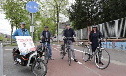 Teams sammeln vom 20. Mai bis 9. Juni Radkilometer für Düsseldorf