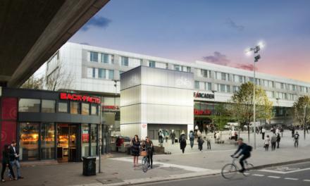 Vorbereitende Arbeiten zum Bau des Fahrradparkturms am Bahnhof D‑Bilk starten