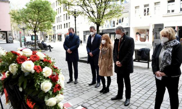 DGB erinnerte an die brutale Erstürmung der Düsseldorfer Gewerkschaftshäuser
