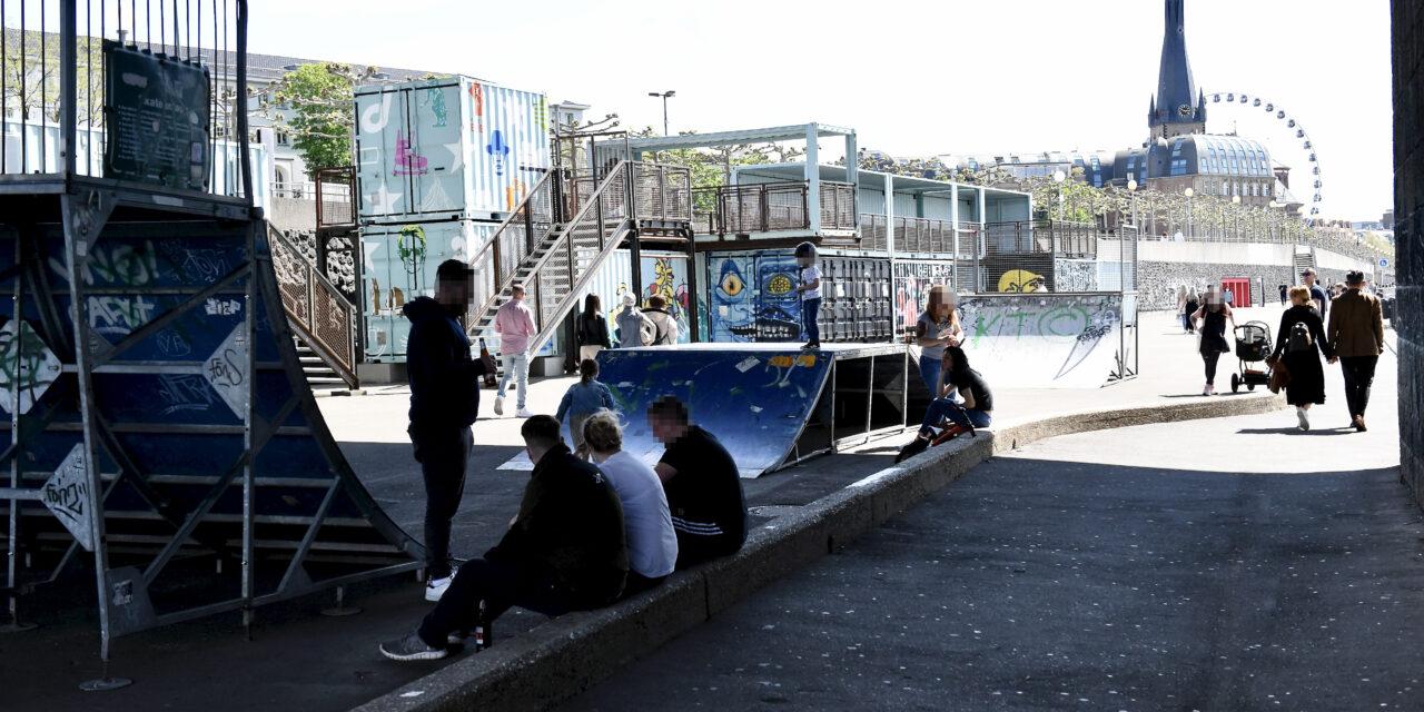 Skateranlage am Tonhallenufer kann wieder genutzt werden
