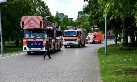 Einsatzreiche Mittagszeit — Feuerwehr Düsseldorf rückte zu insgesamt fünf Brandeinsätzen innerhalb einer Stunde aus