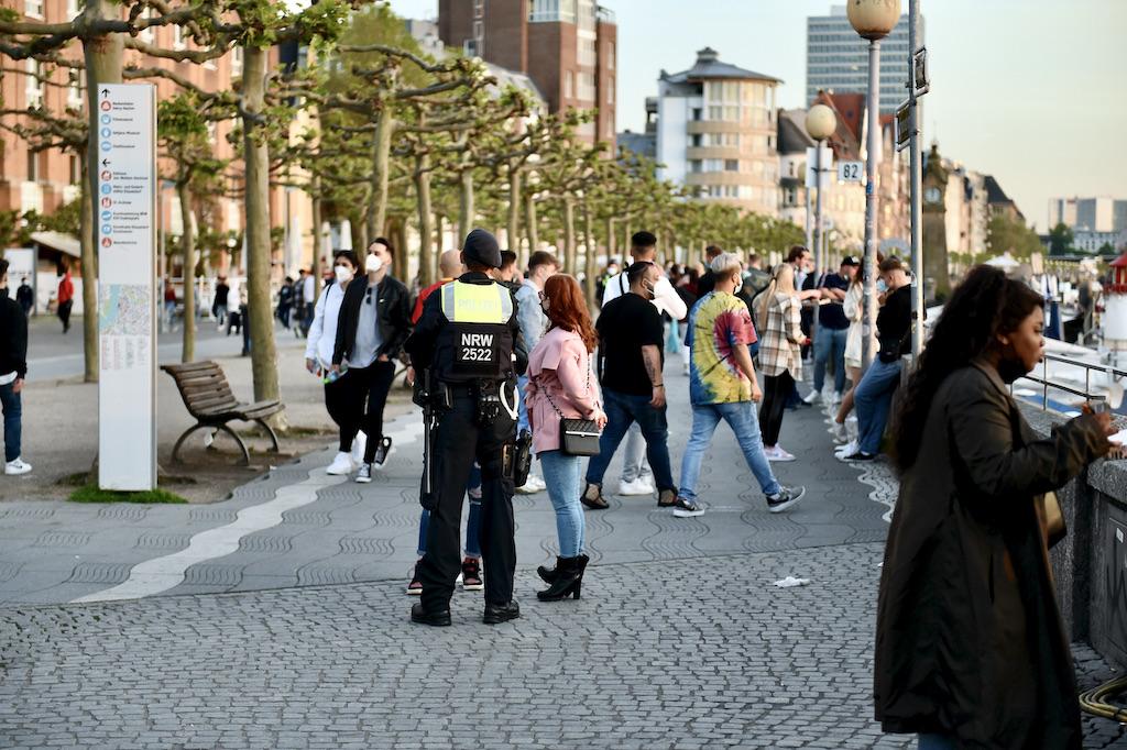 Durchsetzung des Verweilverbot Foto: LOKALBÜRO