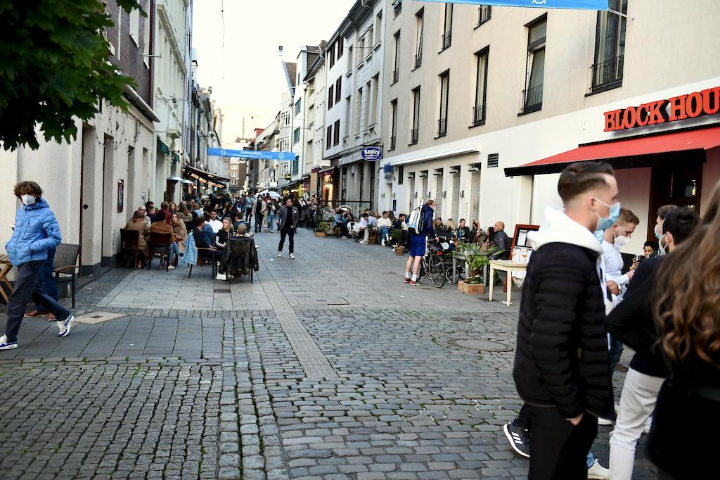 Blick in die Kurzestraße Foto: LOKALBÜRO