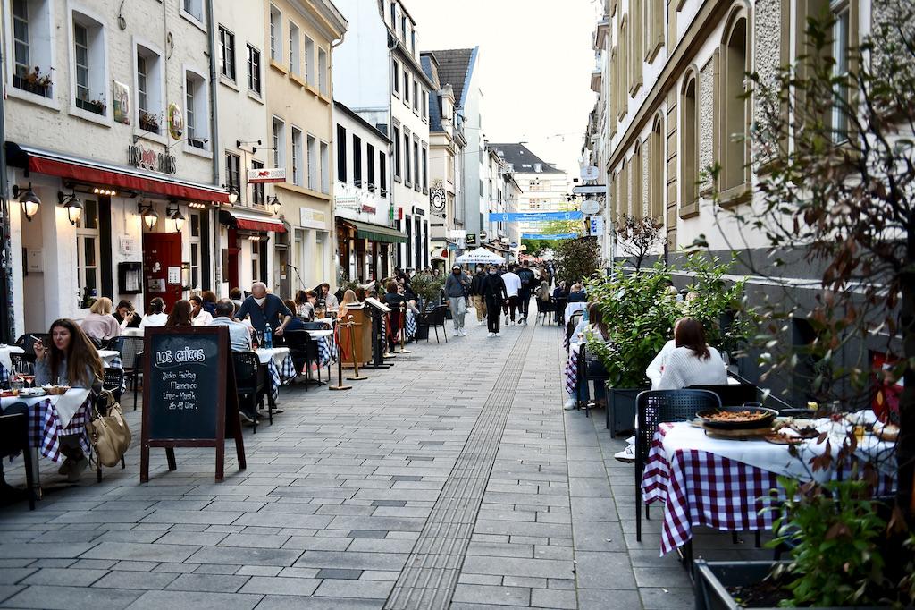 Blick in die Andreasstraße Foto: LOKALBÜRO