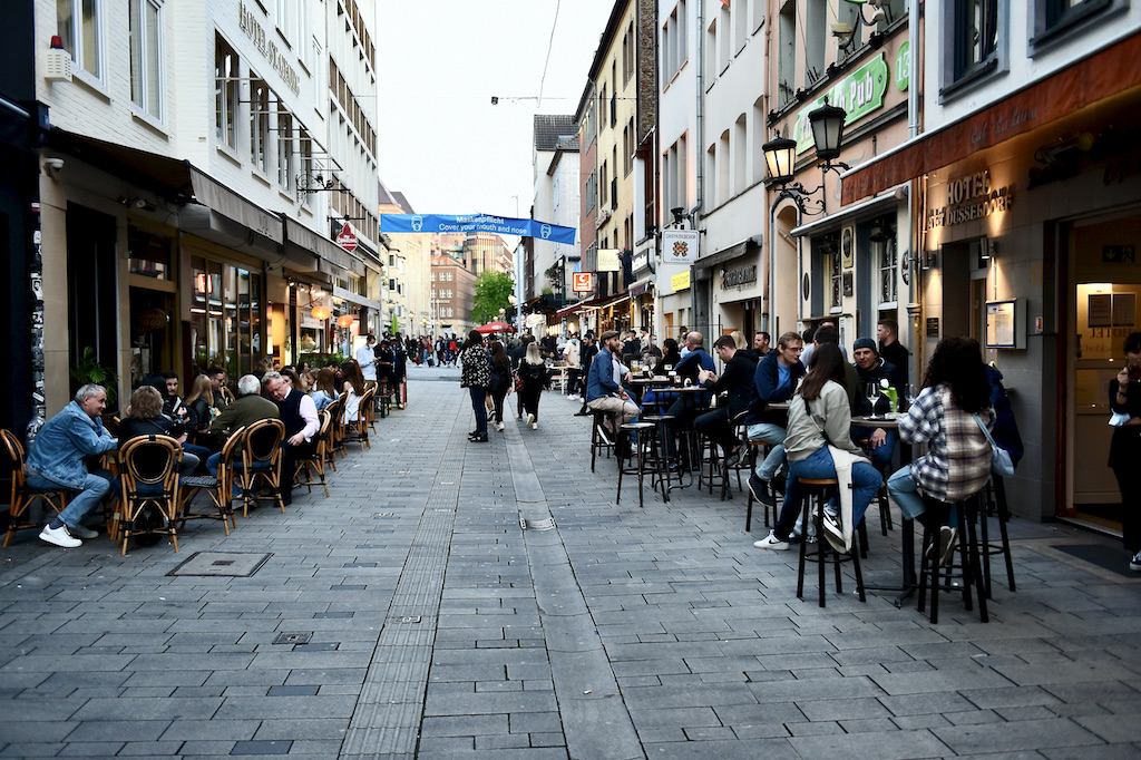 Blick in die Hunsrückenstraße Foto: LOKALBÜRO