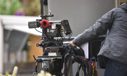 RTL Filmteam auf derKö