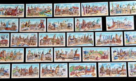 "2 Millionen Postkarten im ""Tilly-Stil"""