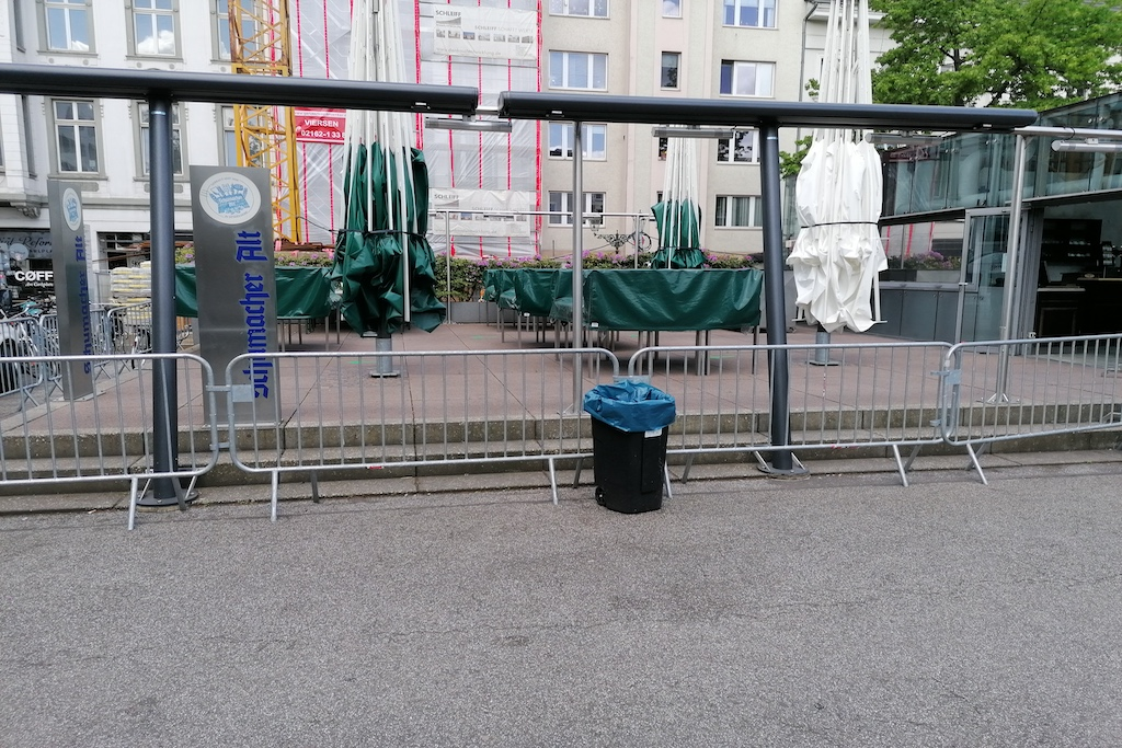 Dauser auf dem Carlsplatz bleibt vorerst noch geschlossen Foto: LOKALBÜRO