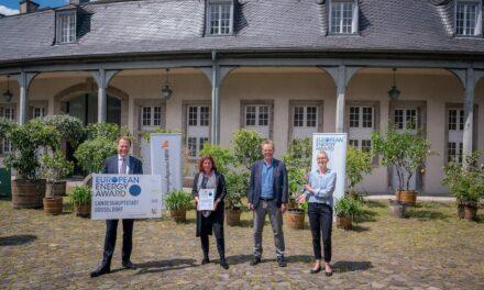 Düsseldorf mit European Energy Award ausgezeichnet