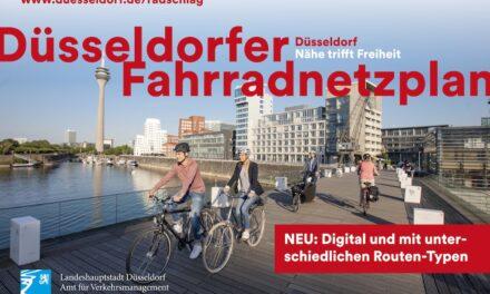 Digitaler Fahrradnetzplan Düsseldorf ist online