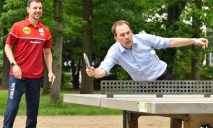 """Breitensport-Kampagne """"Düsseldorf spielt Tischtennis. Für Düsseldorf."""" gestartet"""