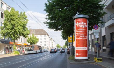 Maske tragen, Testen lassen, Impfen gehen – Landeshauptstadt Düsseldorf startet neue Anti-Corona-Kampagne in sechs Sprachen