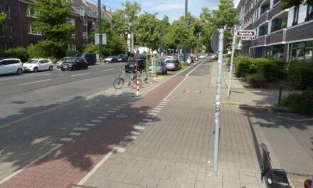 Die Grafenberger Allee wird fahrradfreundlicher