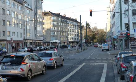 Ausbau Radhauptnetz: Lückenschluss an der Kölner Straße/Pempelforter Straße