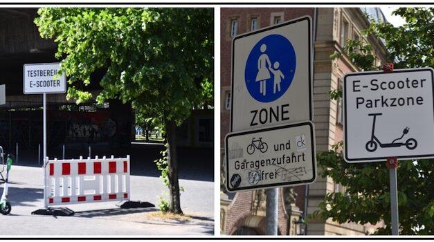 E‑Scooter — testen, parken oderwie?