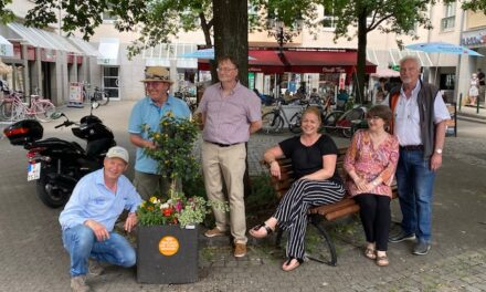 461 Blumenoasen für die Stadtteile
