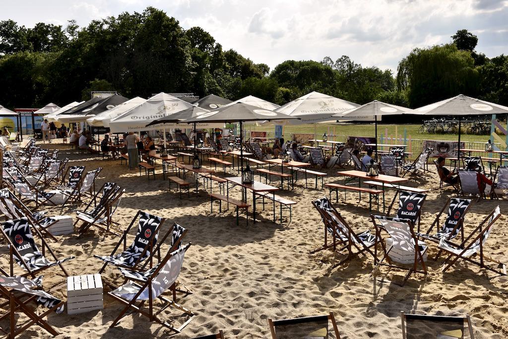 Beachclub im Nordpark Foto: LOKALBÜRO