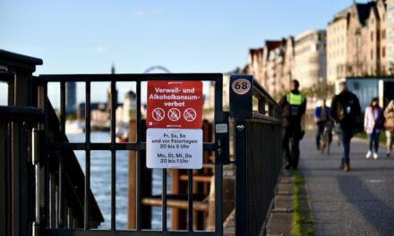 Maskenpflicht sowie Verweil- und Alkoholkonsumverbot ab Freitag aufgehoben
