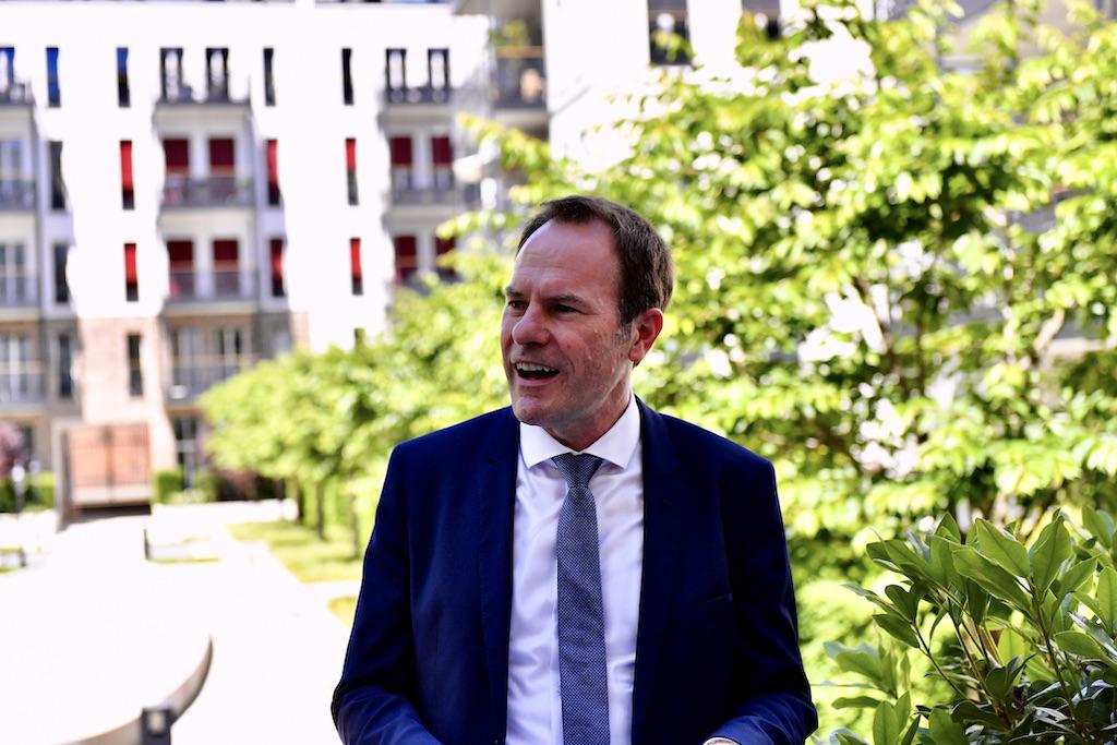 OB Dr. Stephan Keller Foto: LOKALBÜRO