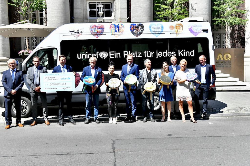 Unicef Freunde und Künstler Foto: LOKALBÜRO