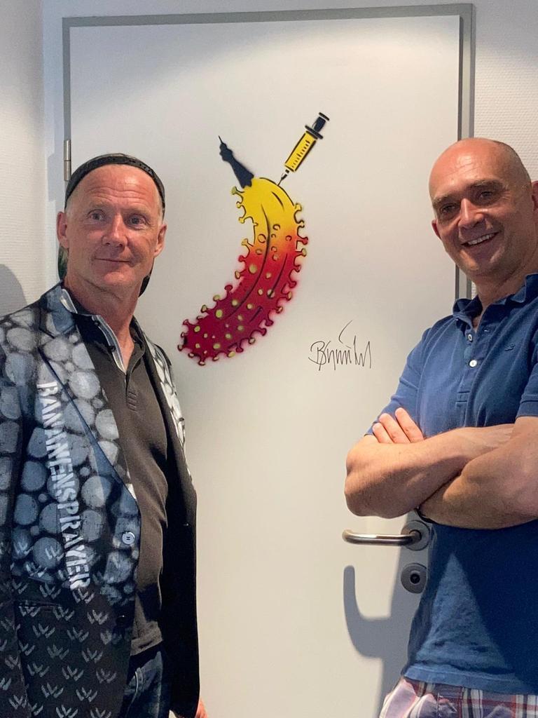 Thomas Baumgärtel und Dr. Peter Sommer Foto: LOKALBÜRO