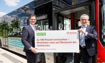 Sauberer Strom für E‑Bus undBahn