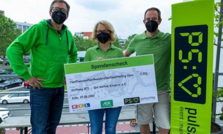 City-Challenge spendete für drei karitative Einrichtungen