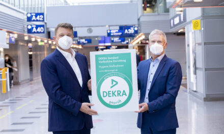 Düsseldorfer Airport erhält DEKRA-Prüfsiegel