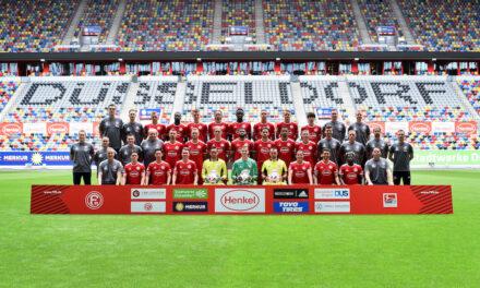 Fortuna Düsseldorf — Mannschaftsfoto