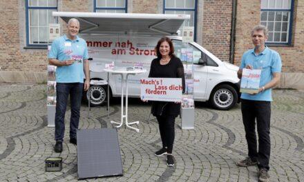 Das Klimamobil: neues Beratungsangebot der Landeshauptstadt