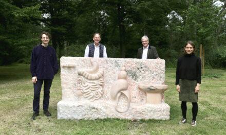 Der Internationale Lantz'scher Skulpturenpark 2021