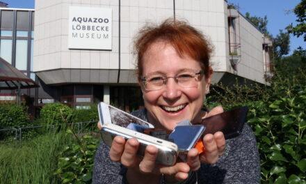 Aquazoo sammelt ausgediente Handys, leere Druckerpatronen und Devisen