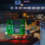 Tiefer gelegte Bamberger Straße: Erste erfolgreiche Durchfahrt eines Kran-Schwertransportes