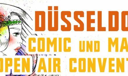 Düsseldorfer Comic Convention – COMEBACK ALS OPEN AIREVENT